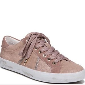 Sam Edelman BAYLEE Size 9.5 rose gold sneakers